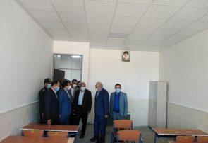 مدرسه شهیدان عادلی و ابراهیمیان سعید آباد به همت هلدینگ صنایع غذایی شیرین عسل افتتاح شد