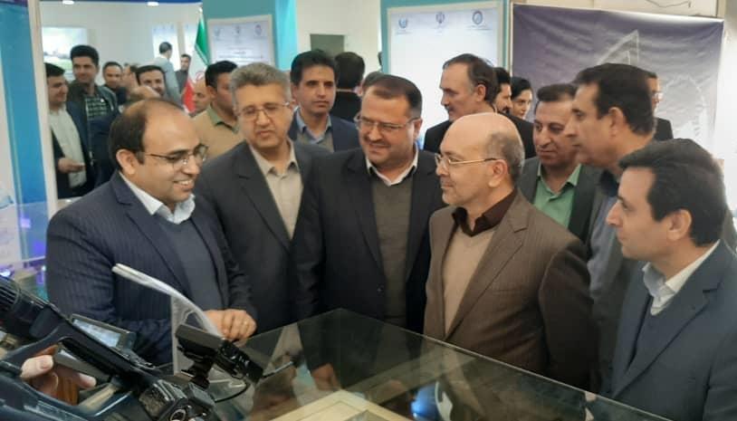حضور فعال وچشمگیر شرکت آب و فاضلاب استان آذربایجان شرقی در  نمایشگاه پژوهش و فناوری صنعت آب و برق کشور