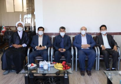بازدید دکتر بهتاج مدیرکلورزشو_جوانان آذربایجانشرقی از اداره آموزش و پرورش ناحیه تبریز