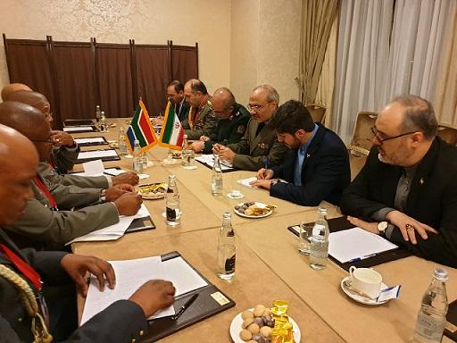 آفریقای جنوبی هرگز تحت تأثیر جوسازی های دروغین آمریکائی ها قرار نمی گیرد/ تأکید بر توسعه بلند مدت روابط دفاعی دو کشور