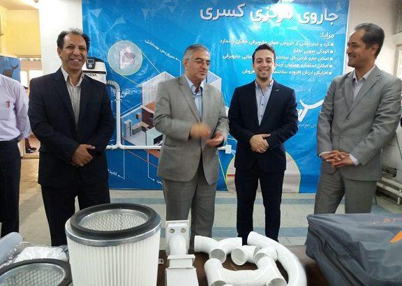 افتتاح کارگاه آموزشی طرح مشترک جاروی مرکزی کسری با مشارکت اداره کل آموزش فنی و حرفه ای آذربایجان شرقی